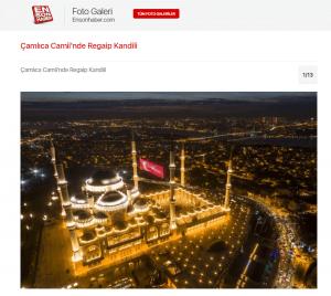 Basında Çamlıca Camii - En Son Haber