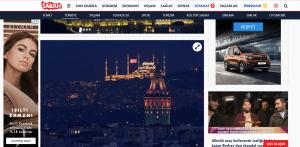Basında Çamlıca Cami - Sabah Gazetesi
